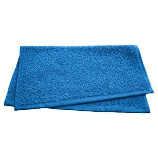 Полотенце махровое Светофор 30х50 синий, 10 шт