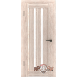 Межкомнатная дверь LINE 2 Л2ПГ1 стекло ультра белое