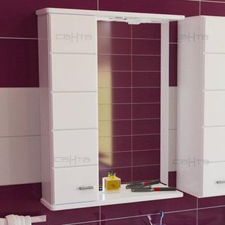 Зеркало-шкаф СанТа Омега 60 L