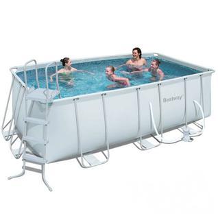 Bestway Каркасный бассейн Bestway 56457, 4,12 x 2,01 м
