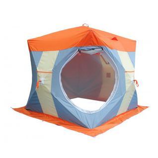 Палатка для зимней рыбалки Митек Нельма Куб 2 Люкс с внутренним тентом