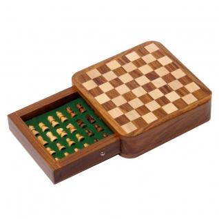 ICHESS-13-13 Экспедиция Индийские шахматы в ящике 13х13 см