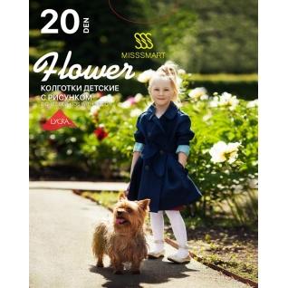 Misssmart Колготки для детей Flower 20 den