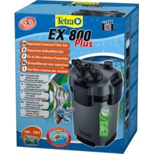 Фильтр внешний Tetra в аквариум EX800 plus на 100-250л