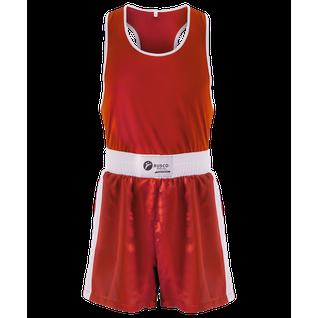 Форма боксерская Rusco Bs-101, детская, красный размер 40