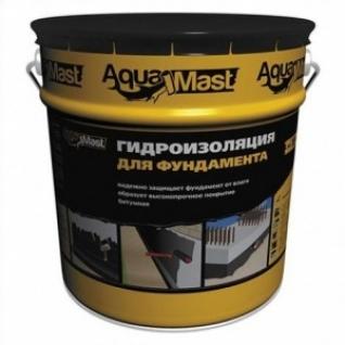 Мастика битумная Aквамаст Фундамент /18,0 кг/