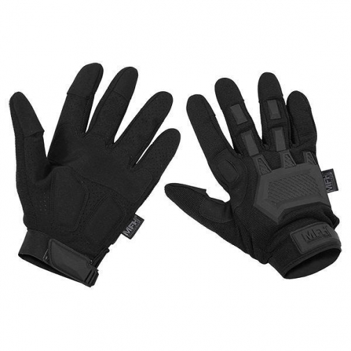 MFH Перчатки MFH Action тактические, цвет черный 5037554