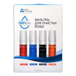 Фильтр для пурифайера AEL Aquaаlliance (упаковка 4 шт.) в цветной коробке