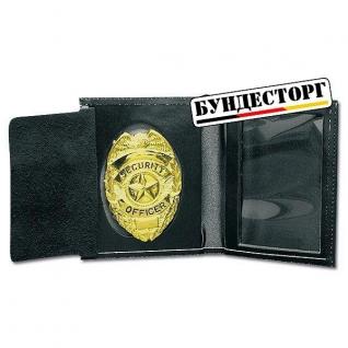 Бумажник ID-pouch Security Officer золото