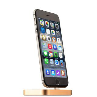 Док-станция COTEetCI Base8 Lightning stand CS2316-CEG для iPhone X/ 8 Plus/ 8/ 7 Plus7/ 6/ SE/ iPod touch Золотистая