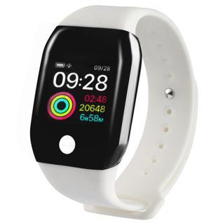 Часы GSMIN A88+ (2019) с измерением давления и пульса (Белый)
