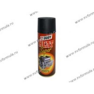Краска термостойкая Черная Body-420 400мл аэрозольная