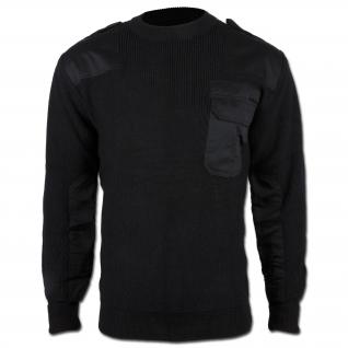 Mil-Tec Пуловер Бундесвера акриловый, цвет черный