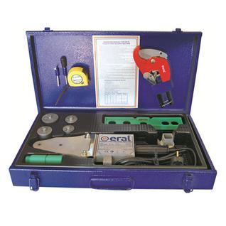 "Сварочный аппарат ""Eral"" CLASSIC 1500W (в комплекте с насадками 20-40мм) ER 02 GM"