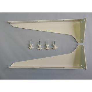 Кронштейн умывальника (стальной порошковая окраска) КСт-320 (комплект) (ПСКОВ) Риф