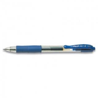 Ручка гелевая PILOT BL-G2-5 авт.резин.манжет.синяя 0,3мм Япония