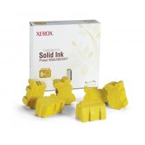 Твёрдые чернила Xerox 108R00819 для Xerox Phaser 8860, оригинальные (жёлтые, 6 шт, 14000 стр) 8007-01