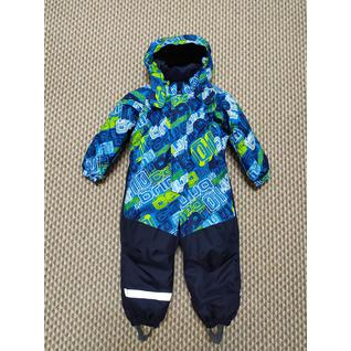 3432 Комбинезон синий для мальчика Super Gift (80-128) (122)