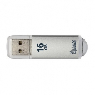 Флеш-память Smartbuy 16GB V-Cut Silver