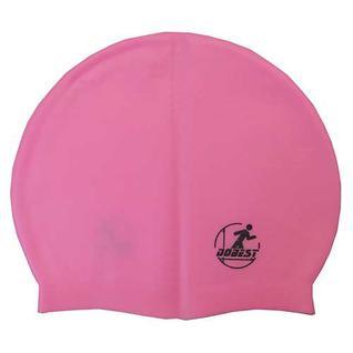 Шапочка для плавания силиконовая массажная Dobest Xa40 (розовая)