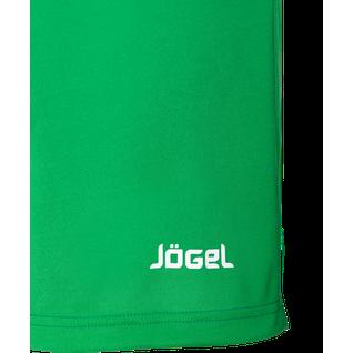 Шорты футбольные Jögel Jfs-1110-031, зеленый/белый размер M
