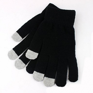 Перчатки сенсорные черные