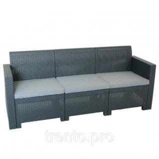 Уличный диван B:Rattan Nebraska Sofa 3 B:Rattan