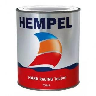 Краска необрастающая Hempel Hard Racing TecCel, голубая, 0,75 л (10255040)