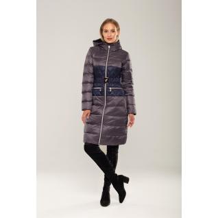 Пальто ODRI MIO 18310136 Пальто ODRI MIO STORMY GRAY(серый) /MONACO BLUE(синий)