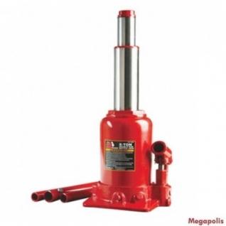 Домкрат бутылочный с двумя штоками, 6т с клапаном (h min 215мм, h max 485мм) Big Red