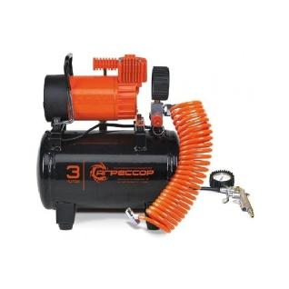 Автомобильный компрессор Агрессор AGR-3LT (+ Мешки для колёс в подарок!)