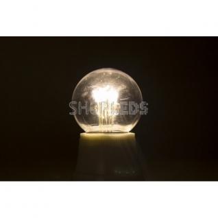 Neon-Night Лампа шар e27 6 LED ∅45мм - тепло-белая, прозрачная колба, эффект лампы накаливания