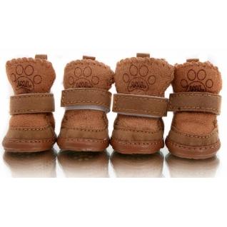 Угги для собак коричневые 4 шт. ( )