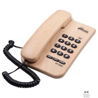 Ritmix RITMIX RT-320 light wood телефон проводной повторный набор номера, настенная установка, регулятор громкости