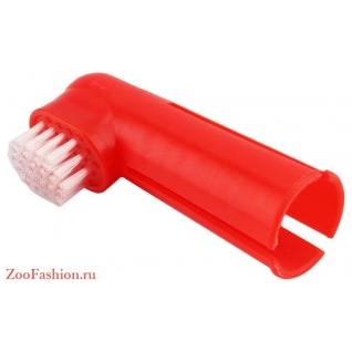 Зубная щетка на палец (6см)