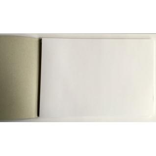 Альбом для рисования А4 60л, склейка,белый блок,обл.импортный картон, 7422