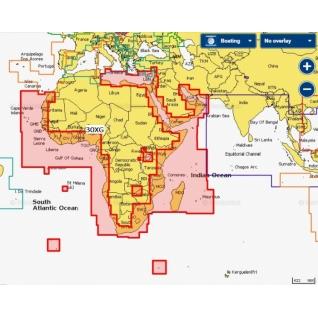 Карта Navionics+ Африка и Ближний Восток (30XG)