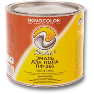 Эмаль ПФ-266 Новоколор ( желто-коричневая, красно-коричневая)