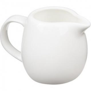 Молочник белый фарфор 150мл (WL-995004)
