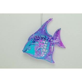 Украшение, Тропическая рыба, цвет иридий сине-фиолетовый