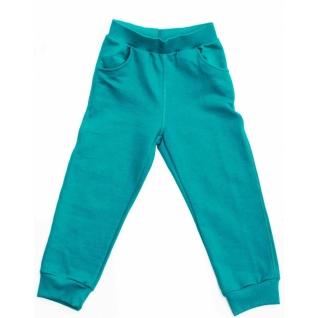 Штаны для девочки бирюзовые