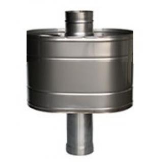 Бак для бани из нержавейки, 25 (на трубу D 115 мм). Сталь AISI 304