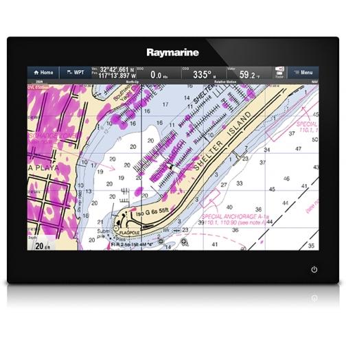 Эхолот-картплоттер Raymarine gS125 6 o'clock viewing (E70184) 36971655