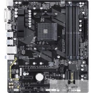 Gigabyte Gigabyte GA-AX370M-DS3H RTL X370, Socket AM4, 4DDR4, PCI-E Dsub+DVI+HDMI GbLAN SATA MicroATX