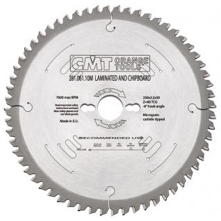 Диск пильный форматный с отрицательным углом врезания XTreme CMT 281.061.10M