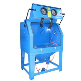 Пескоструйная камера с электродвигателем для очистки воздуха 220B(объем-990л,510л/мин, 3.4-6.1атм) Forsage
