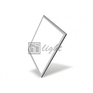 GSlight Светодиодная панель 595x595x8мм 40W 220V Day White (серая рамка)