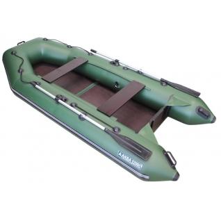 Моторная лодка Аква 3200 С (стационарный транец, слань-книжка) Мастер лодок