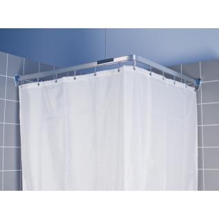 Карниз гибкий для ванной Duschy 688-90 хром