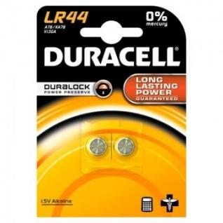Батарейки DURACELL LR44 бл/2шт